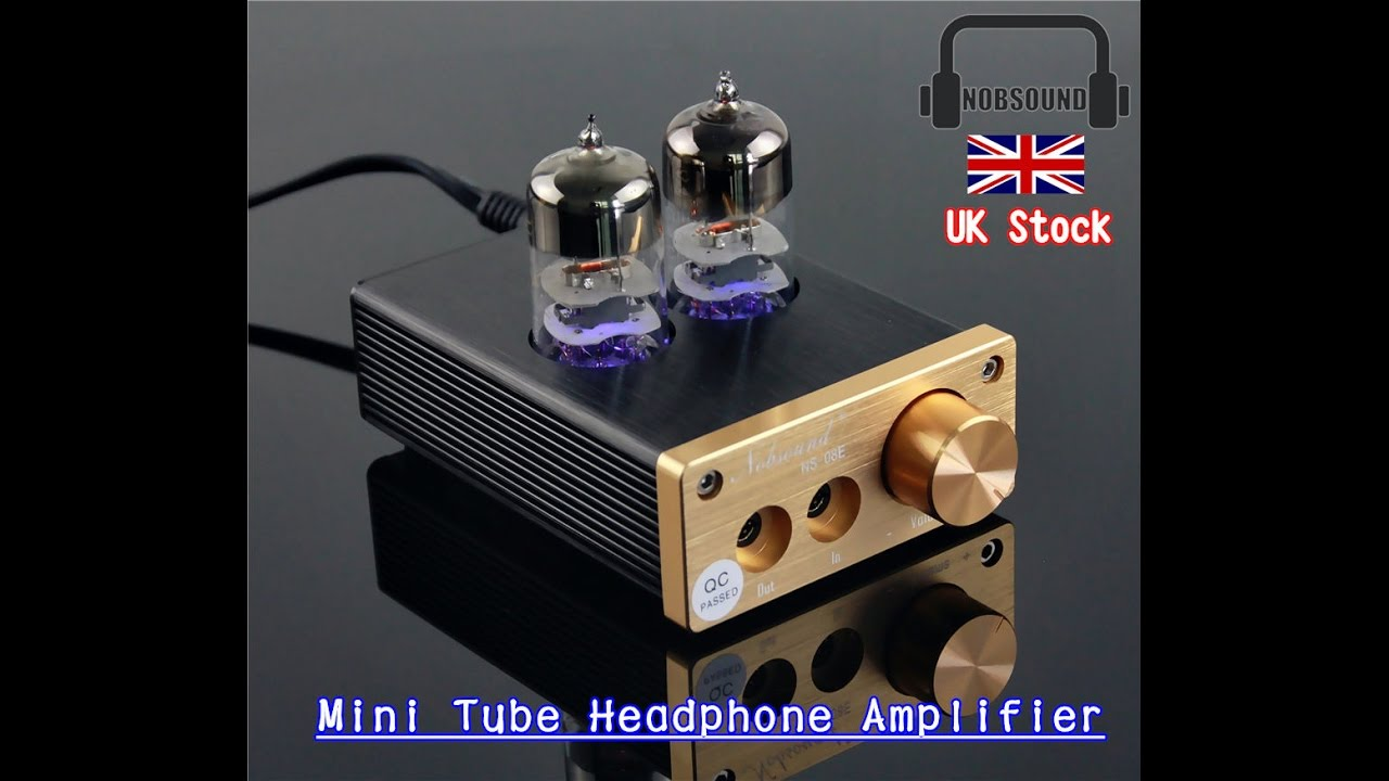 HEADPHONE TUBE AMPLIFIER UNBOXING