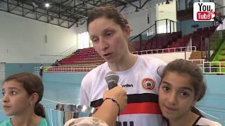 ملخص مبارات نهائي بطولة الجزائر لكرة اليد سيدات 2014 بين المجمع النفطي و نادي الأبيار