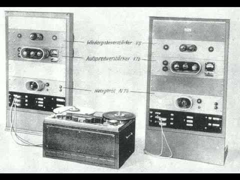 Excerpt of 1944 stereo tape recording with Bruckner Berliner Staatsoper and Karajan (8th Symphony)