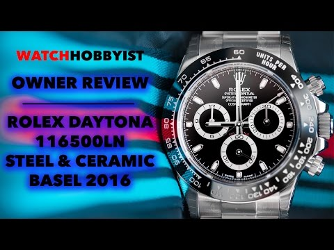 In-Depth REVIEW: Rolex Daytona 500 116500LN Stainless Steel / Ceramic from Baselworld 2016!!