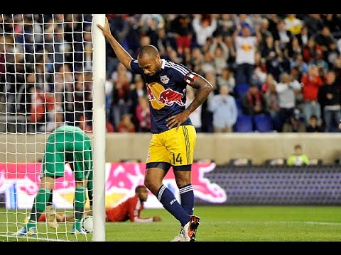 Thierry Henry's 52 Goals For The New York Red Bulls