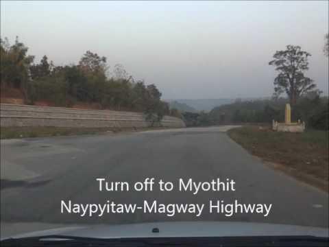 Naypyitaw-Magway Highway
