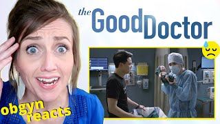 ObGyn Reacts: The Good Doctor | C-Section in Quarantine (VERY INACCURATE)