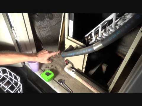Is your HVAC leak coming from the condensation pan?