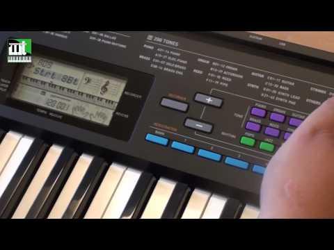 Giới thiệu đàn organ Casio CTK-3400
