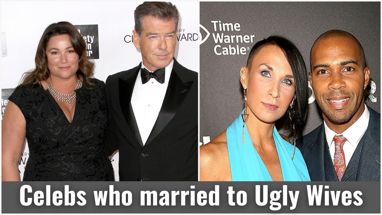 Download Spoiler alert: 10 male celebrities married to ugly wives