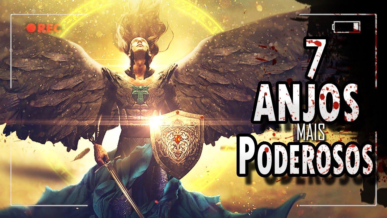 Os 7 Anjos Mais Poderosos De Deus Youtube