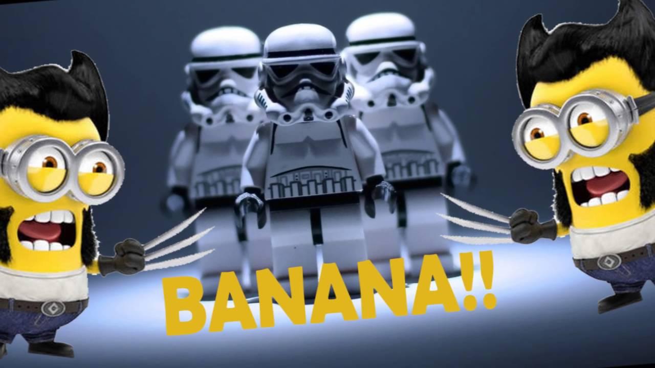 Star Wars Minion Mr Banana Youtube