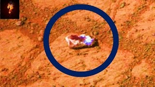 Aliens Throwing Rocks At The Mars Rover?