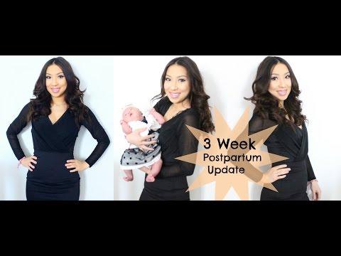 3 Week Postpartum Update | Breastfeeding, Baby Acne & Depression