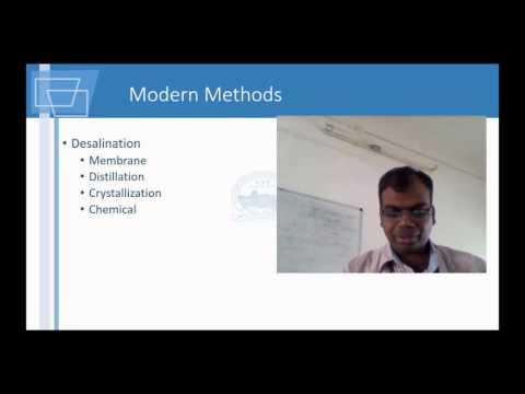Unit Operation in Drinking Water Treatment - Environmental Engineering Lecture 05