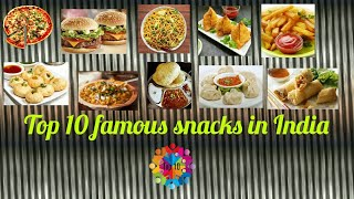 Top 10 famous fast food India
