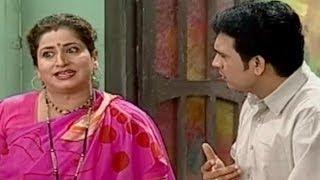 Vijay Chavan, Kishori Ambiye - Tee Ticha Dadla Aani Madhla Comedy Scene 11/17