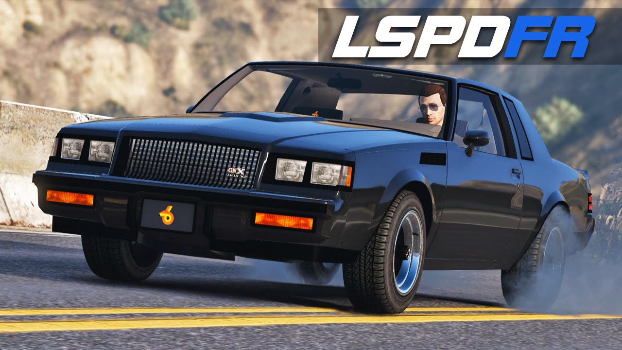 LSPDFR E131 - 1987 Buick Grand National GNX | Chase Me - YouTube