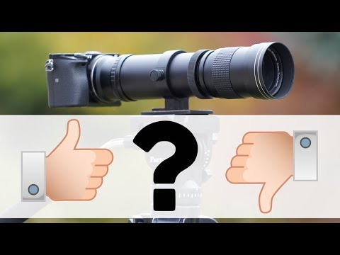 How bad is a cheap $100 Chinese zoom lens? 420mm - 800mm