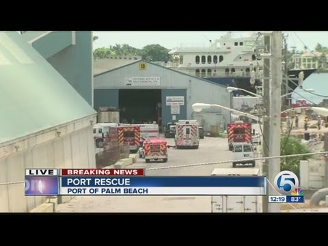 Deadly accident at Port of Palm Beach