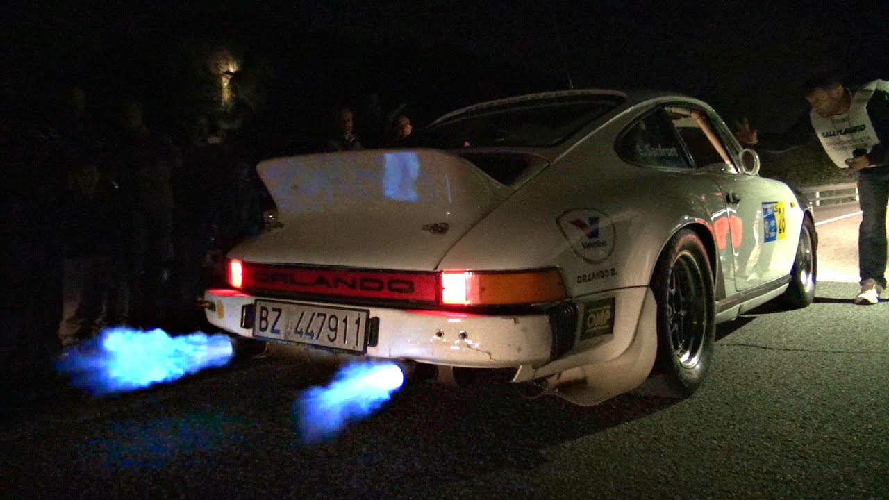 Porsche 911 SC Rally Special Shooting Flames AT IDLE