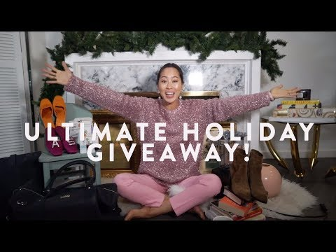 Ultimate Holiday Giveaway | Aimee Song