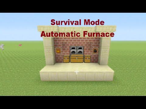 Minecraft Tutorial: Survival Automatic Furnace