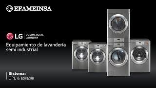 LG  Commercial Laundry System l  Sistema de lavandería comercial de LG