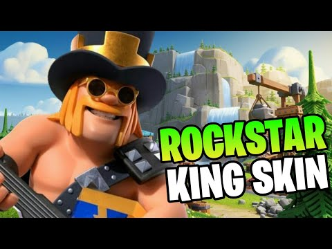New Party King Skin Copied Valkyrie's Accent 😂 August 2020 | 8th Anniversary Clash of Clans
