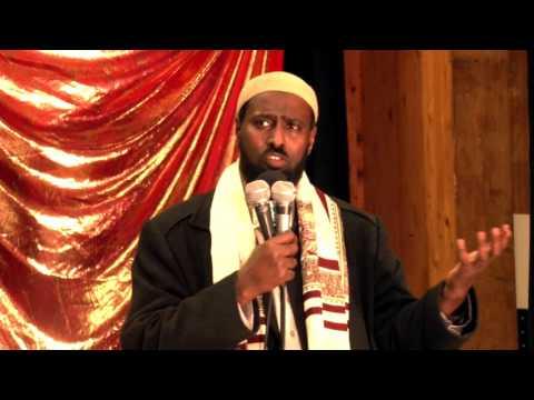 Muxaadaro Swedish iyo Somali sh abdirahmaan sh. Muhyidiin Celi.