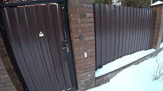 Умный дом часть 4. Умная калитка в умном доме.