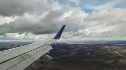 Airplane Landing at RDM airport Delta flight 5768 Embrarer 175