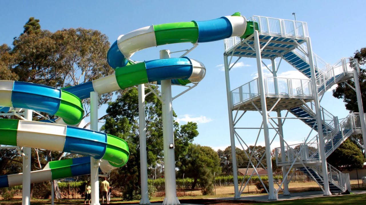 Marion Outdoor Swimming Centre Water Slide