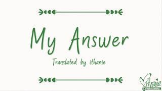 [SUB INDO] Seamo - My Answer (Naruto Shippuden Ost. Ending 10)