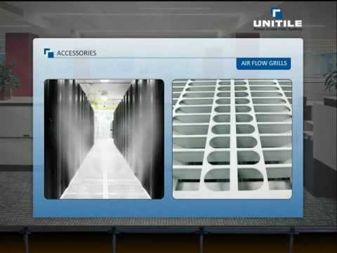 Raised Access Floors By Unitile