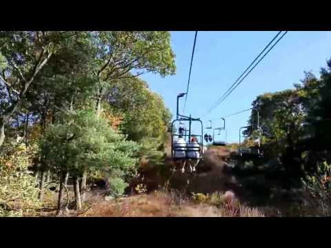 Great Blue Hill Ski Lift - October 20, 2013
