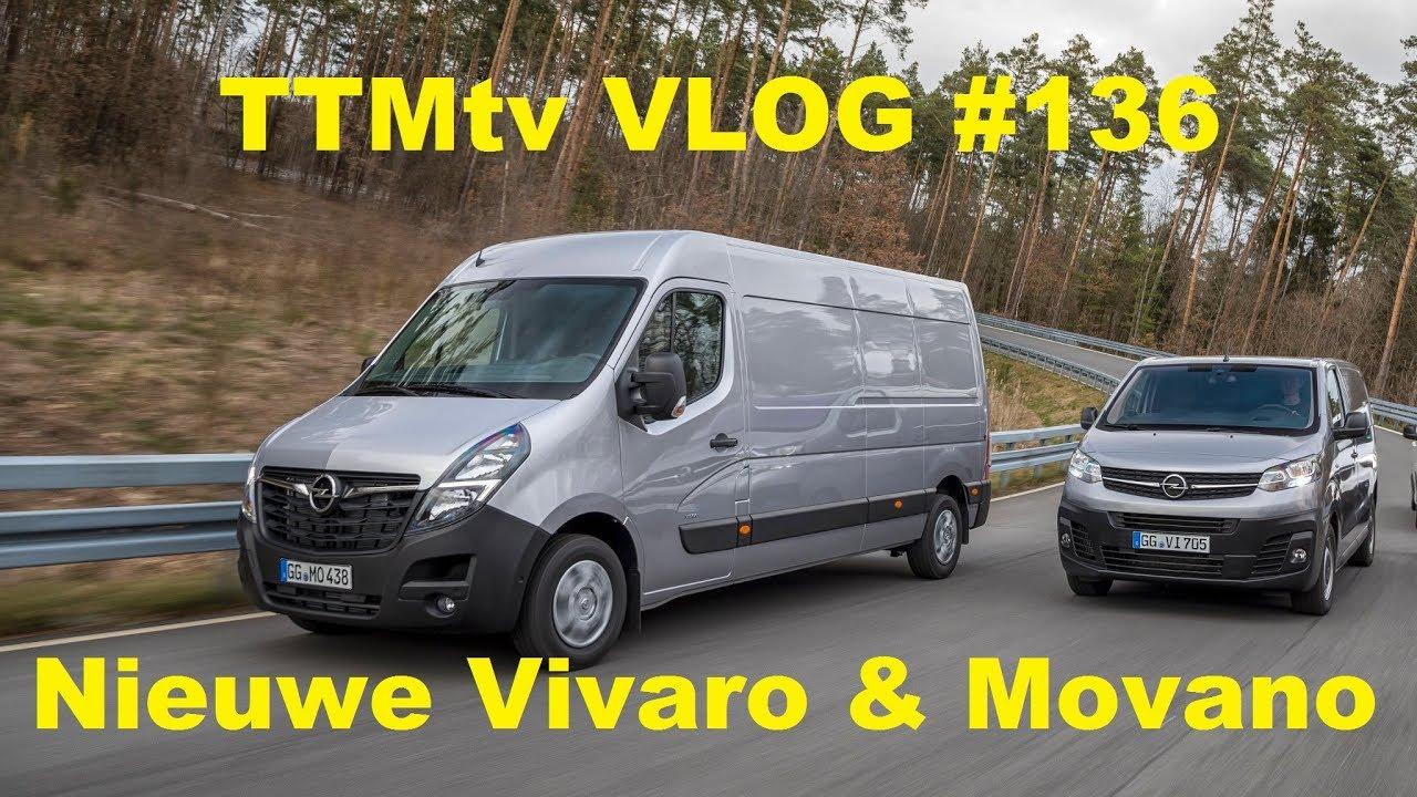Ttmtv Vlog 136 Driving New Opel Vivaro Movano Youtube
