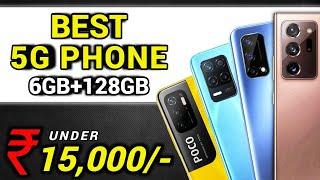 6GB +128GB   Top 4 Best 5G Smartphone Under 15000 in June 2021   Best Phone Under 15000