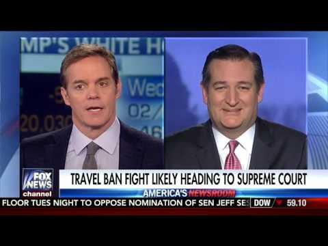 Sen. Cruz on Fox News' America Newsroom - Feb. 8, 2017