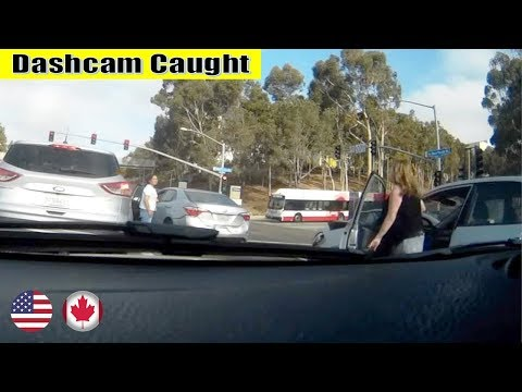Ultimate North American Car Driving Fails Compilation: The One With Roll Over Car
