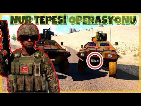Arma 3 - Nur Tepesi Operasyonu - TÜRK ASKERİ OYUNU - w/Oyun Öküzü