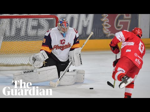 Petr Cech makes ice hockey dream debut with match-winning penalty save