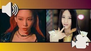 [AUDIO SWAP] ♫ テヨン (TAEYEON) - #GirlsSpkOut feat.ちゃんみな ♫ // …