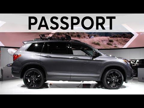 2018 LA Auto Show: 2019 Honda Passport | Consumer Reports