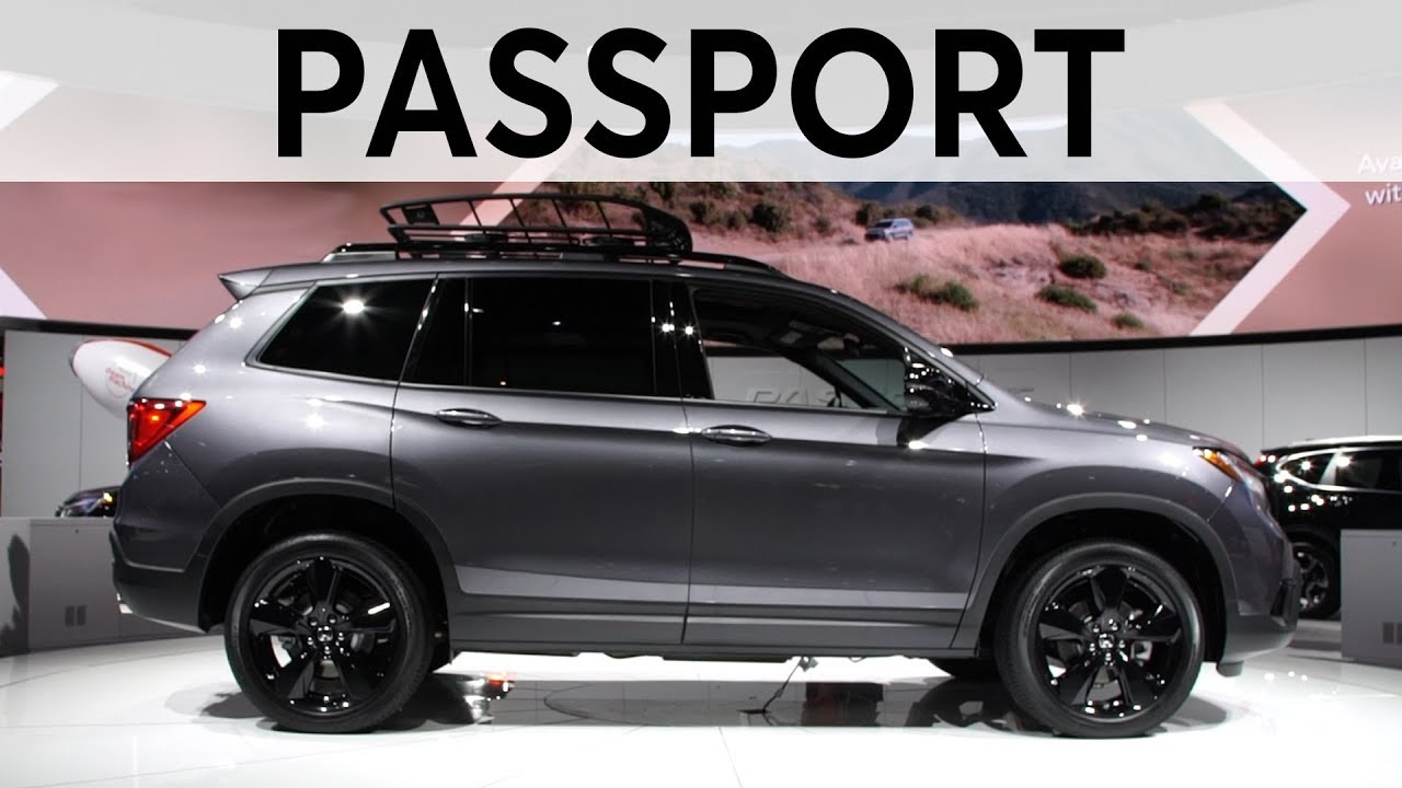 2018 La Auto Show 2019 Honda Passport Consumer Reports Youtube