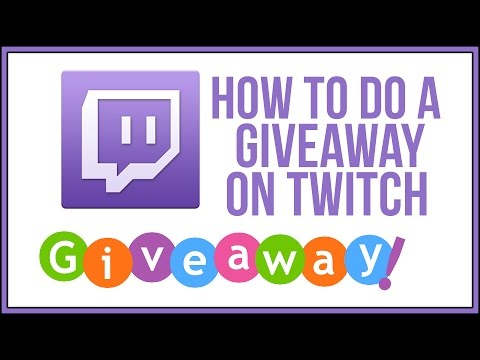 How To Do Giveaways On Twitch With Nightbot - Twitch Tutorial