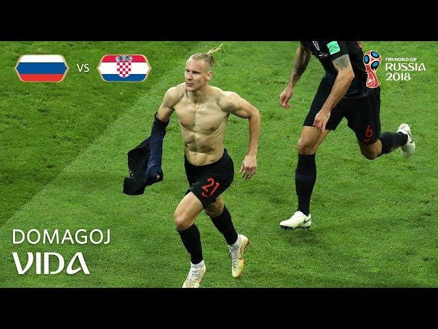 Domagoj VIDA Goal – Russia v Croatia  – MATCH 59