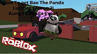 Bao The Panda (ROBLOX Event) Kung Fo Panda 3
