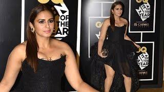 Huma Qureshi At GQ Men Of The Year 2016 India Awards Red Carpet