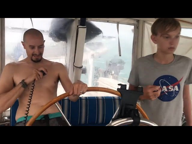 Quarantined on a sailboat in the Dry Tortugas...with a 68 knot squall! ~Life off the deep end Ep41