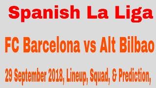 Fc barcelona vs alt bilbao 29 september ...