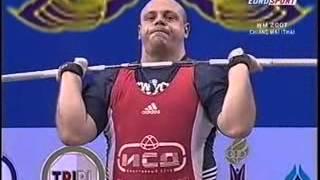 2007 World Weightlifting +105 Kg C+Jerk