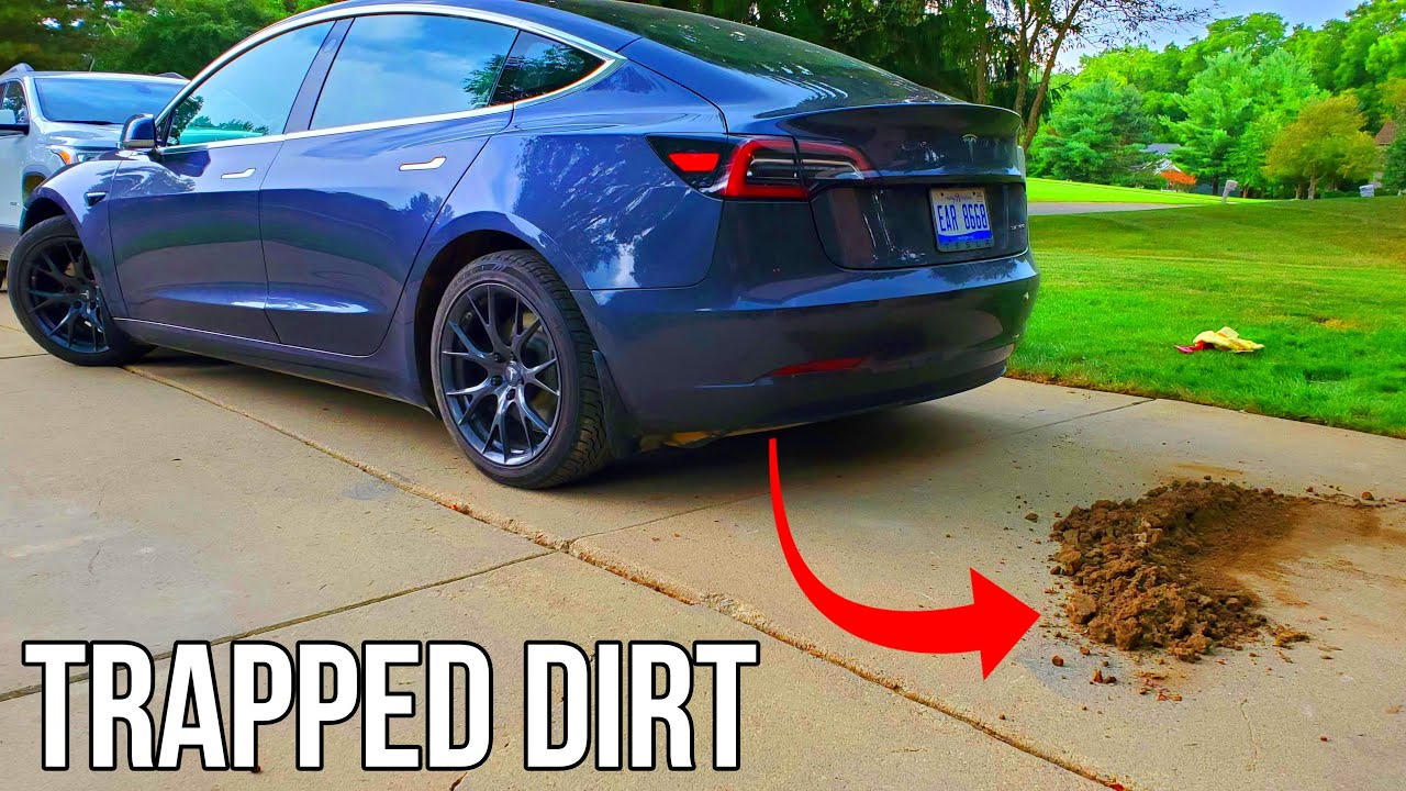 I Found Over 30 Pounds of Dirt in My Tesla Model 3! | Wear and Tear after 36,000 Miles