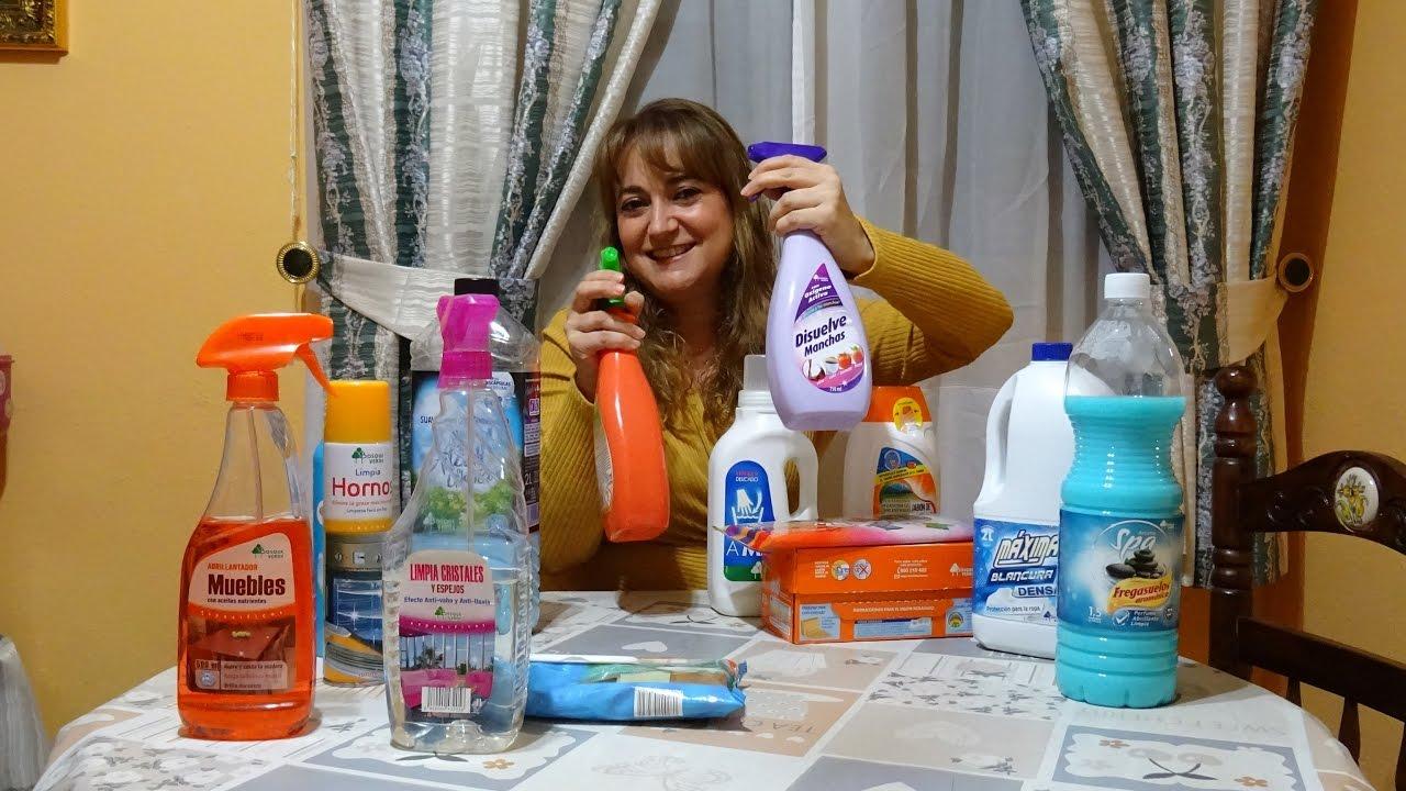 Mis productos de limpieza favoritos de mercadona bosque for Articulos de casa